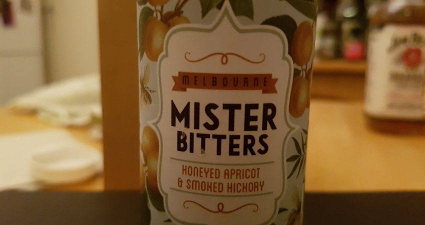 Honeyed Apricot & Smoked Hickory by Mister Bitters