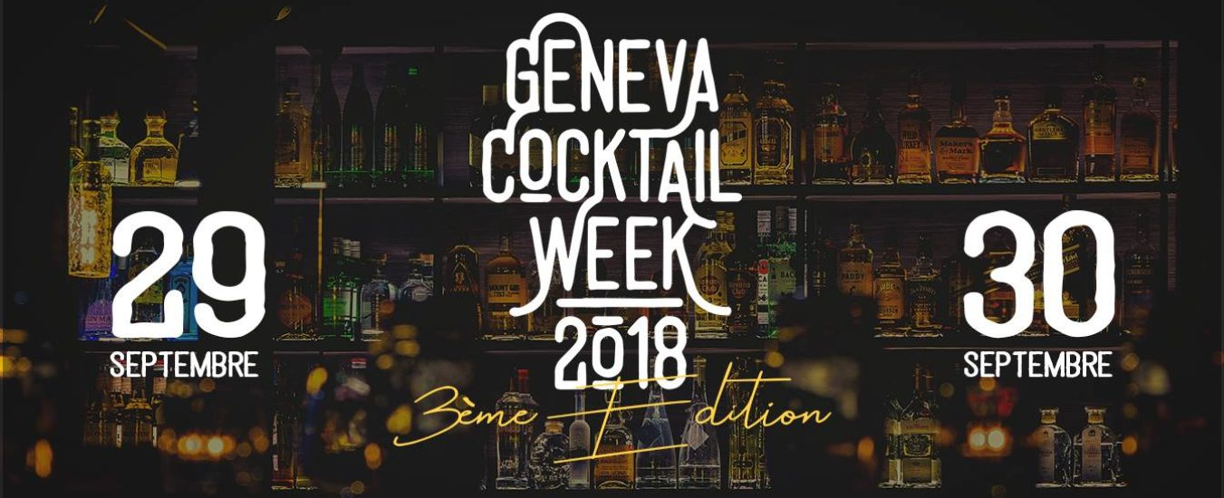 Ready, set, go for the 2018 edition of the Geneva Cocktail Week!