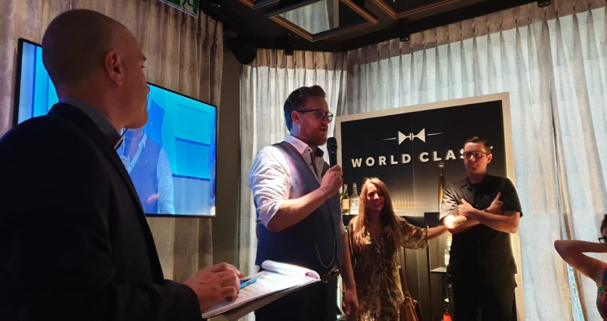 Dirk Hany is Switzerland's Diageo World Class 2019 champion