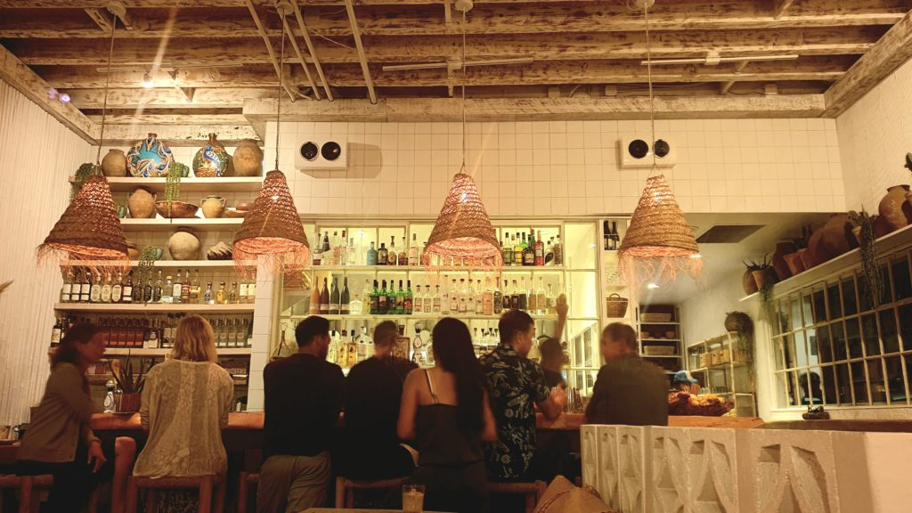 Interior of Chulita in Venice Beach