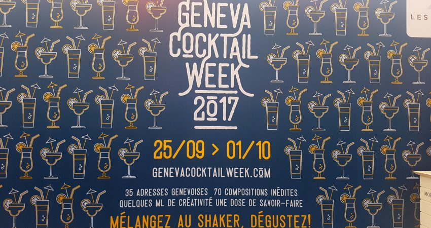 Geneva Cocktail Week 2017 – Back for a second edition!