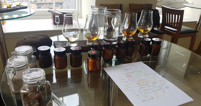 Morning masterclass at the Scotch Whisky Experience
