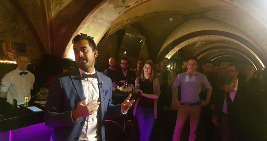Jason Knüsel wins the Havana Club Cocktail Grand Prix Switzerland 2018 competition